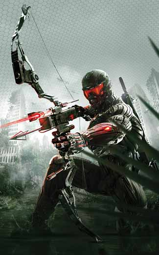 Crysis 3 mobile wallpaper or background 02