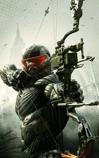 Crysis 3 mobile wallpaper or background 03