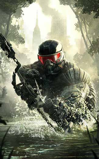 Crysis 3 mobile wallpaper or background 04