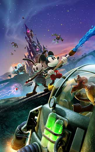Disney Epic Mickey 2: The Power of Two mobile wallpaper or background 01