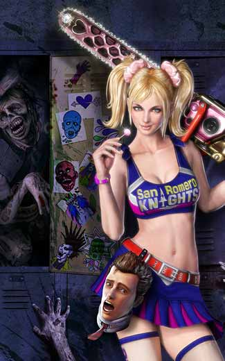 Lollipop Chainsaw mobile wallpaper or background 01
