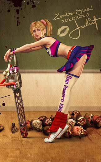 Lollipop Chainsaw mobile wallpaper or background 02