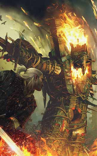 The Witcher 2: Assassins of Kings mobile wallpaper or background 05