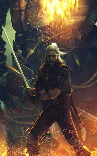 The Witcher 2: Assassins of Kings mobile wallpaper or background 07