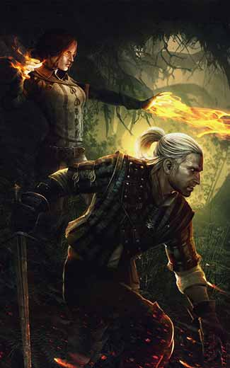 The Witcher 2: Assassins of Kings mobile wallpaper or background 08