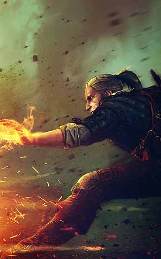 The Witcher 2: Assassins of Kings mobile wallpaper or background 11