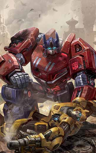 Transformers: Fall of Cybertron mobile wallpaper or background 01