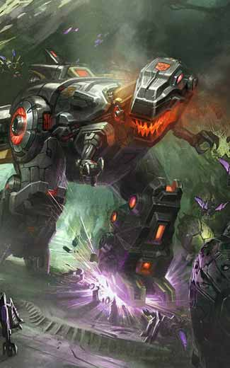 Transformers: Fall of Cybertron mobile wallpaper or background 02