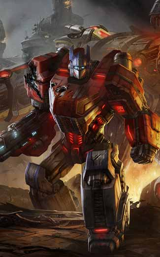 Transformers: Fall of Cybertron mobile wallpaper or background 03