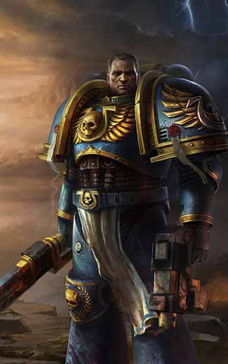 Warhammer 40,000: Space Marine mobile wallpaper or background 04