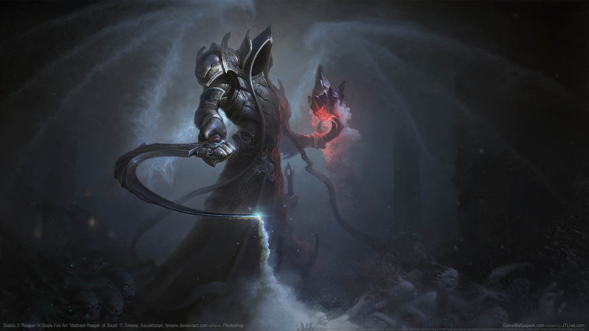 Diablo 3 Reaper Of Souls Wallpapers: Diablo 3: Reaper Of Souls Fan Art Wallpaper 11 1920x1080