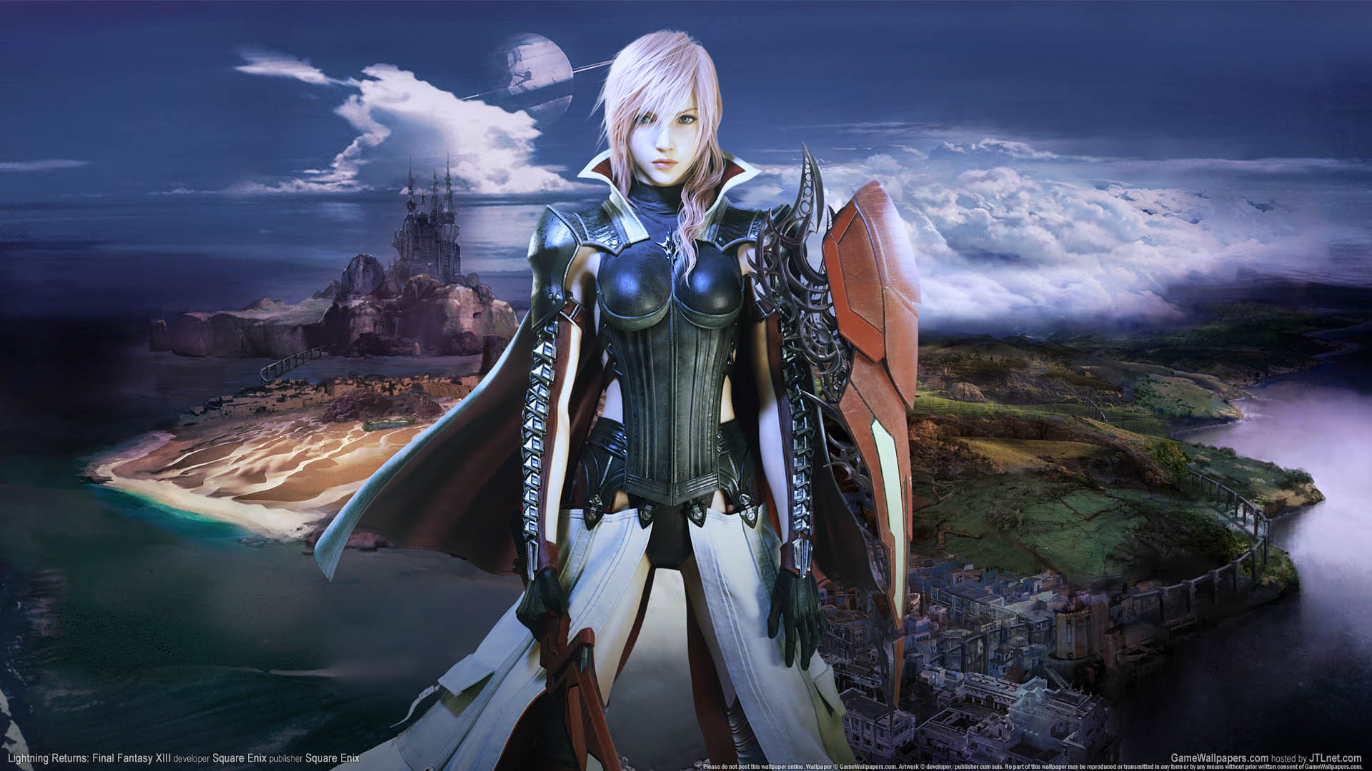 Iphone wallpaper game - Lightning Returns Final Fantasy Xiii Fond D 233 Cran 01