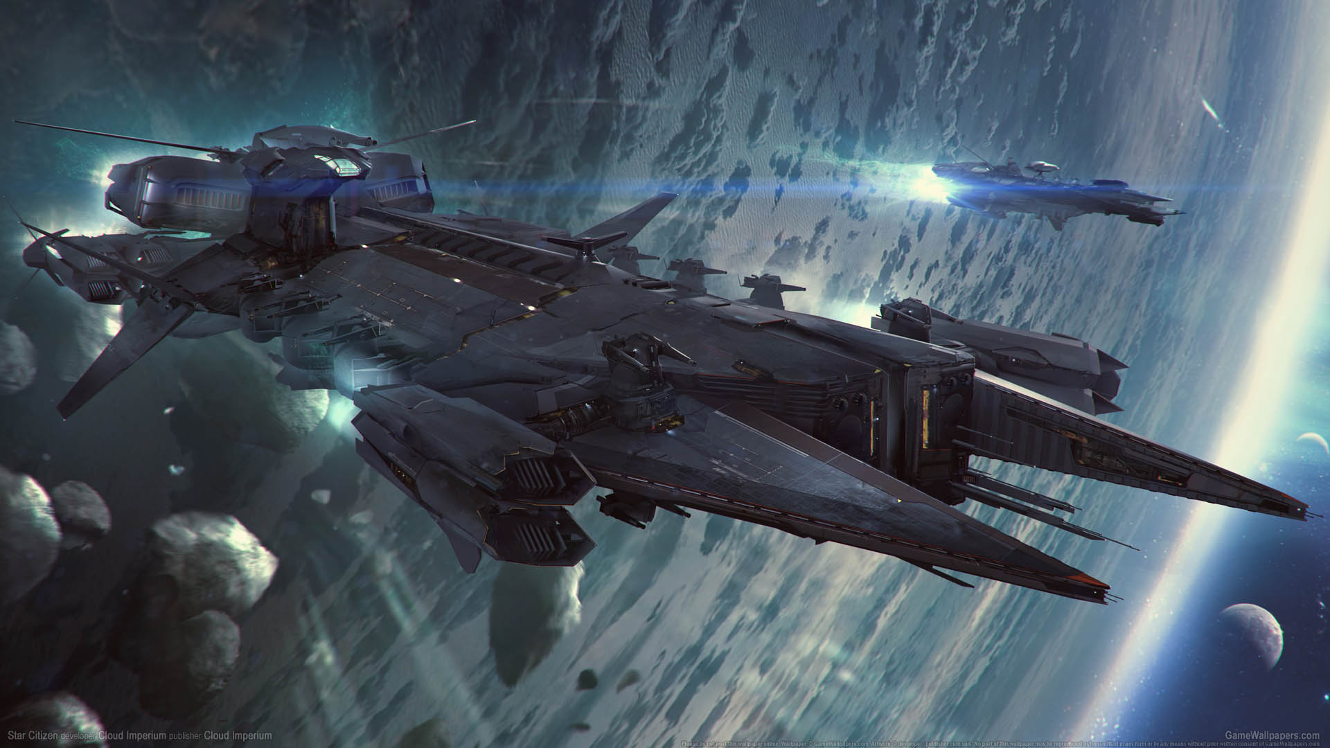 Star Citizen Wallpaper 1080p: Star Citizen Wallpaper 10 1920x1080