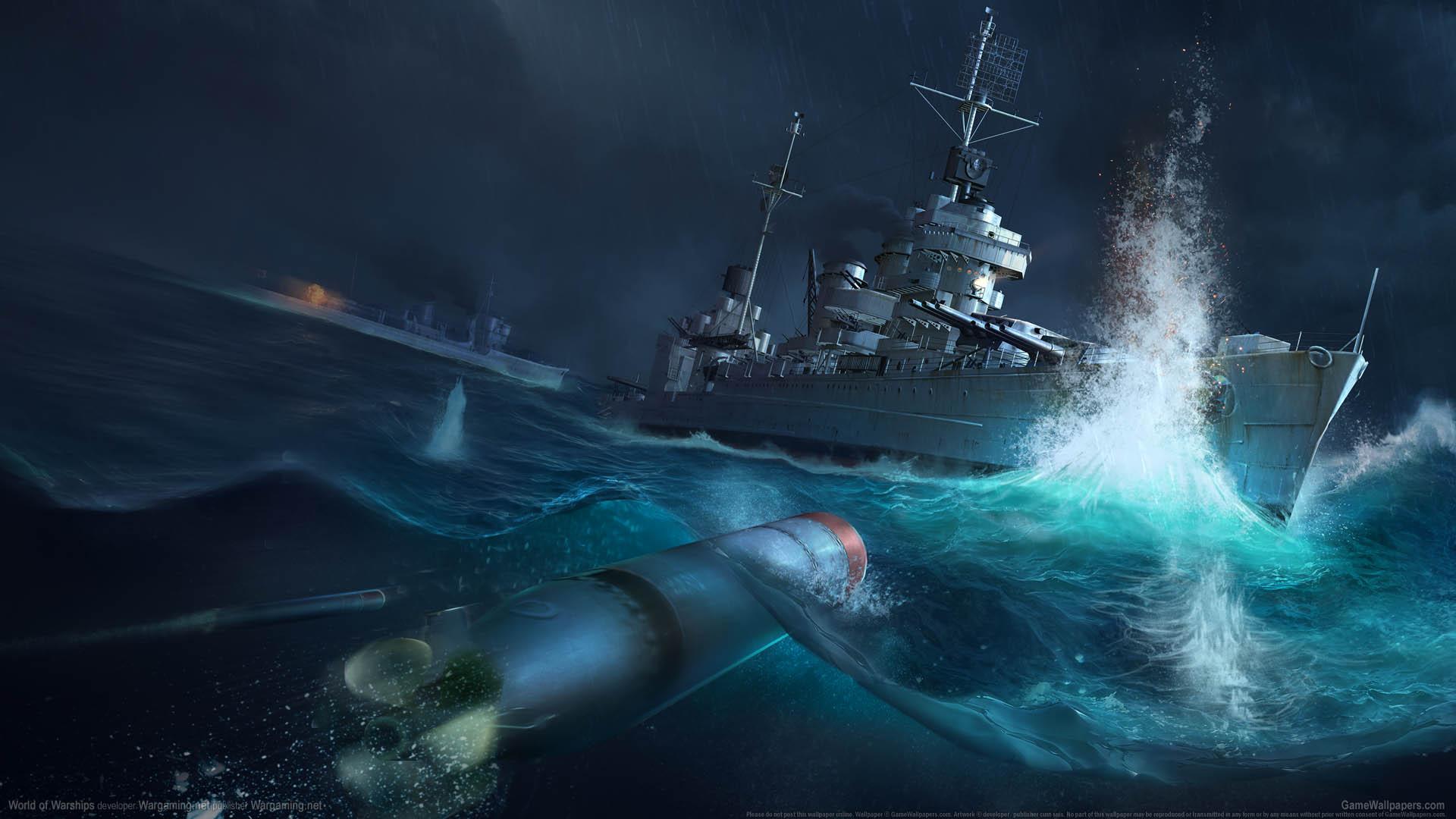 World Of Warships Wallpaper: World Of Warships Wallpaper 12 1920x1080