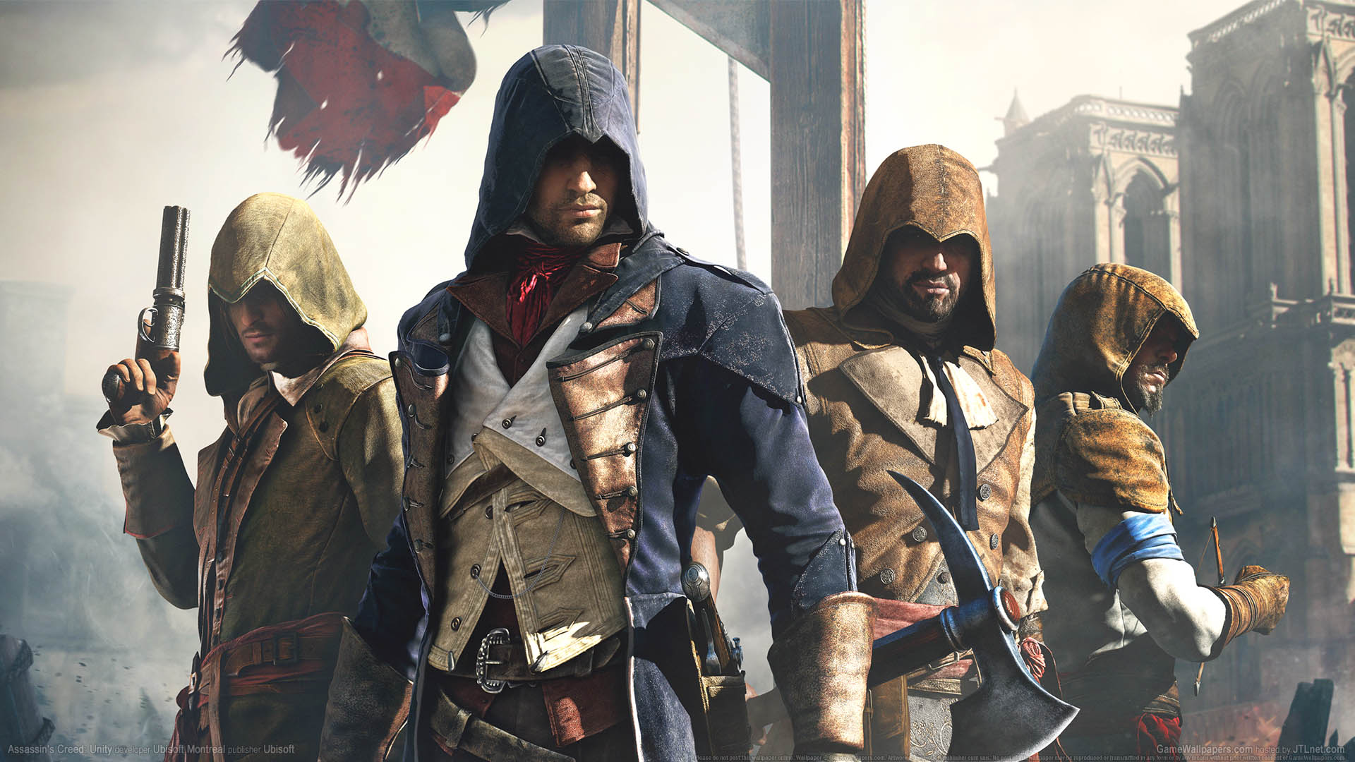 Assassin S Creed Unity Wallpaper 15 1920x1080
