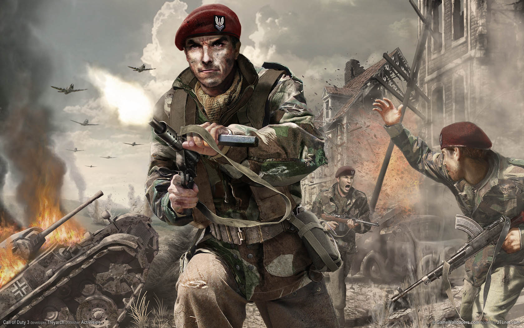 Call Of Duty 3 Wallpaper 01 1680x1050