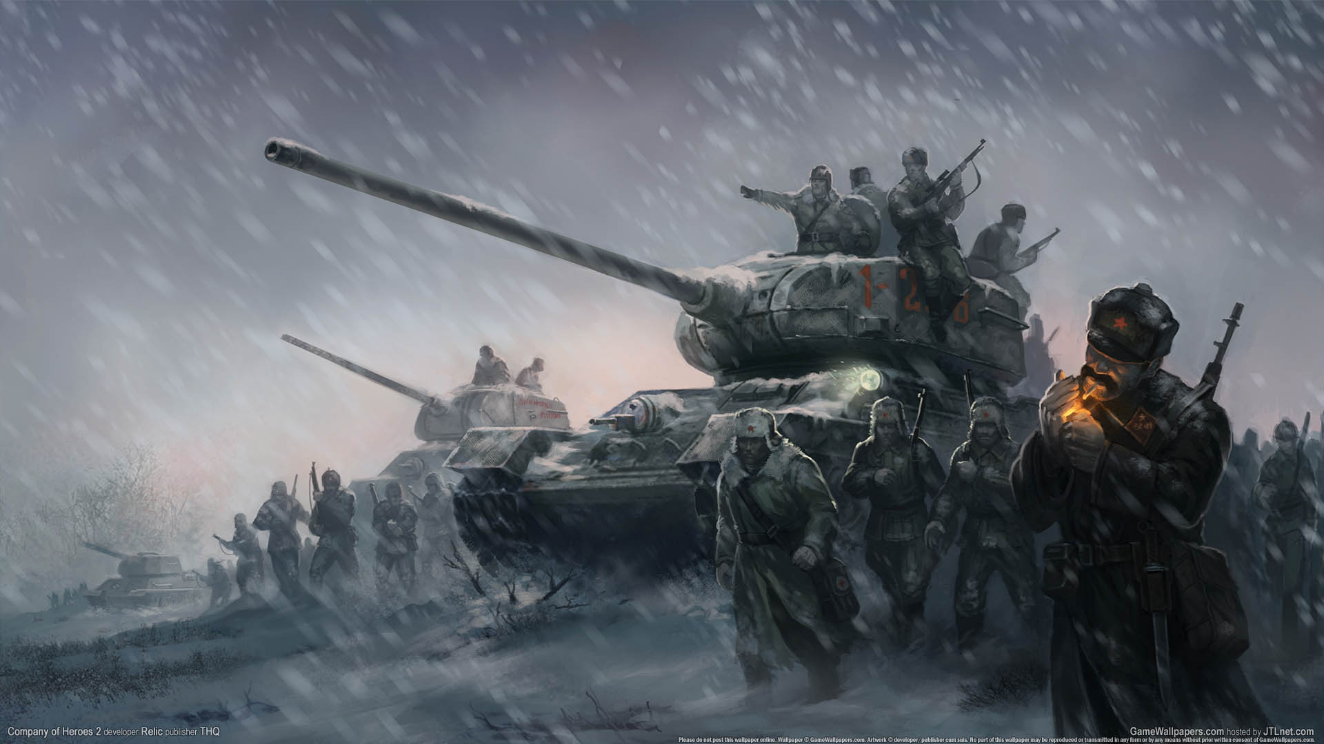 Company of heroes 2 wallpaper 01 1920x1080 for The wallpaper company