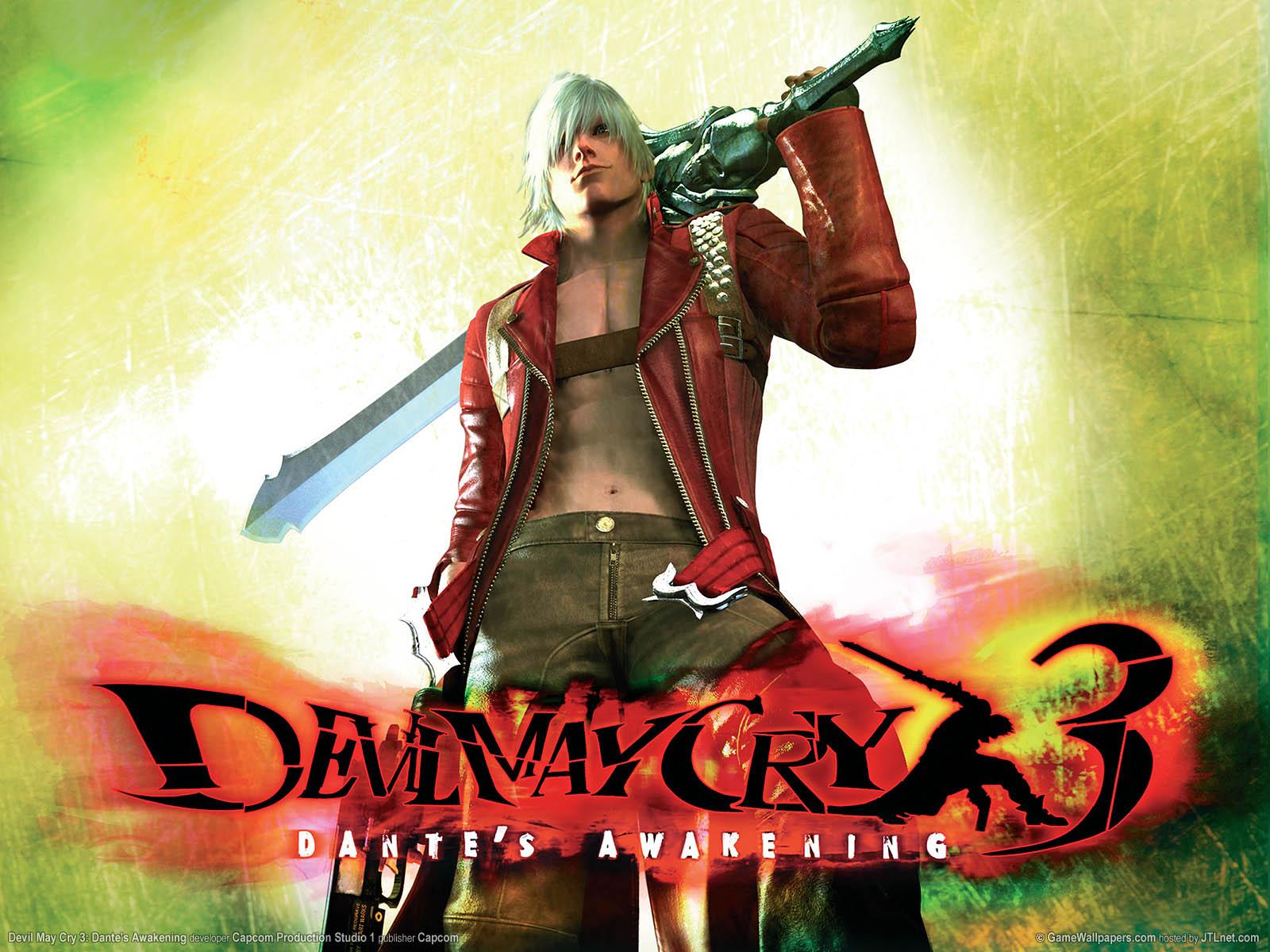 Devil May Cry 3 Dantes Awakening Wallpaper 01 1600x1200