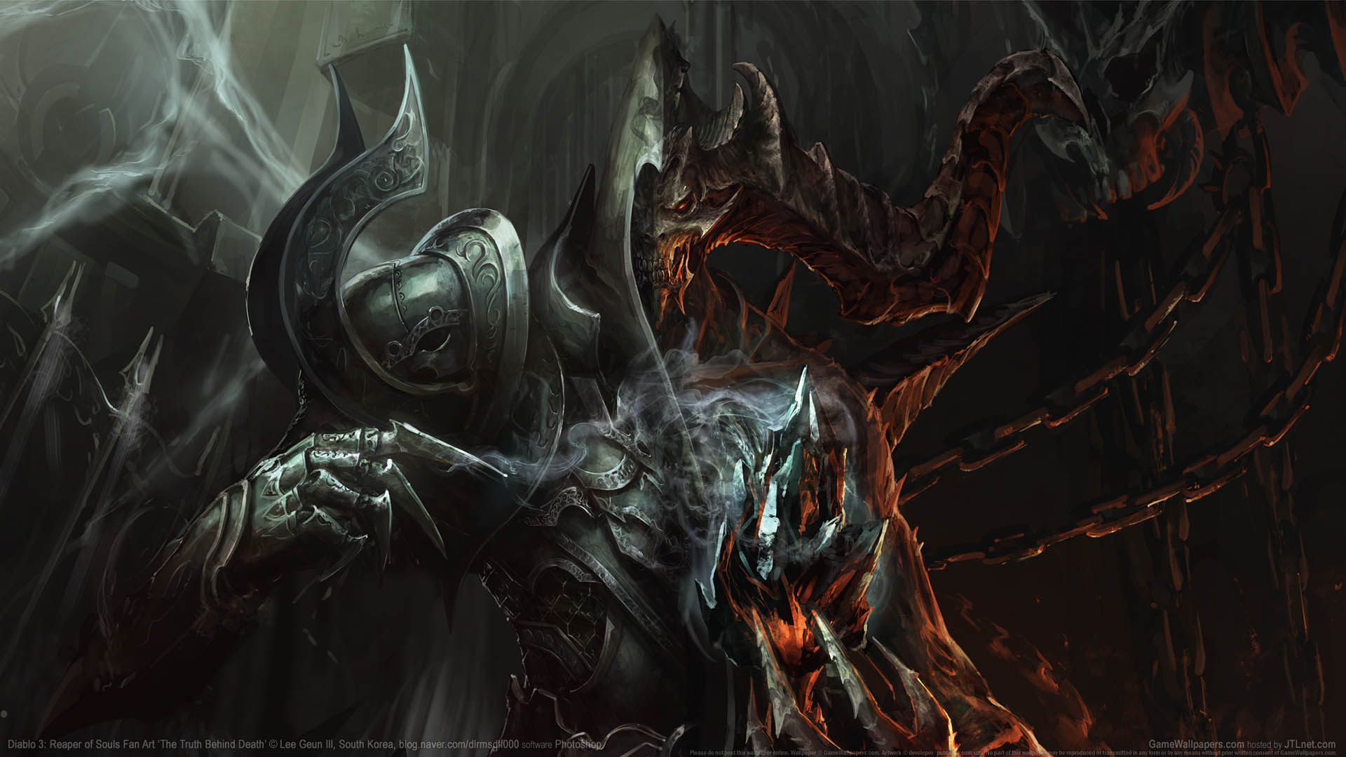 Diablo 3: Reaper of Souls Fan Art wallpaper 02 1920x1080