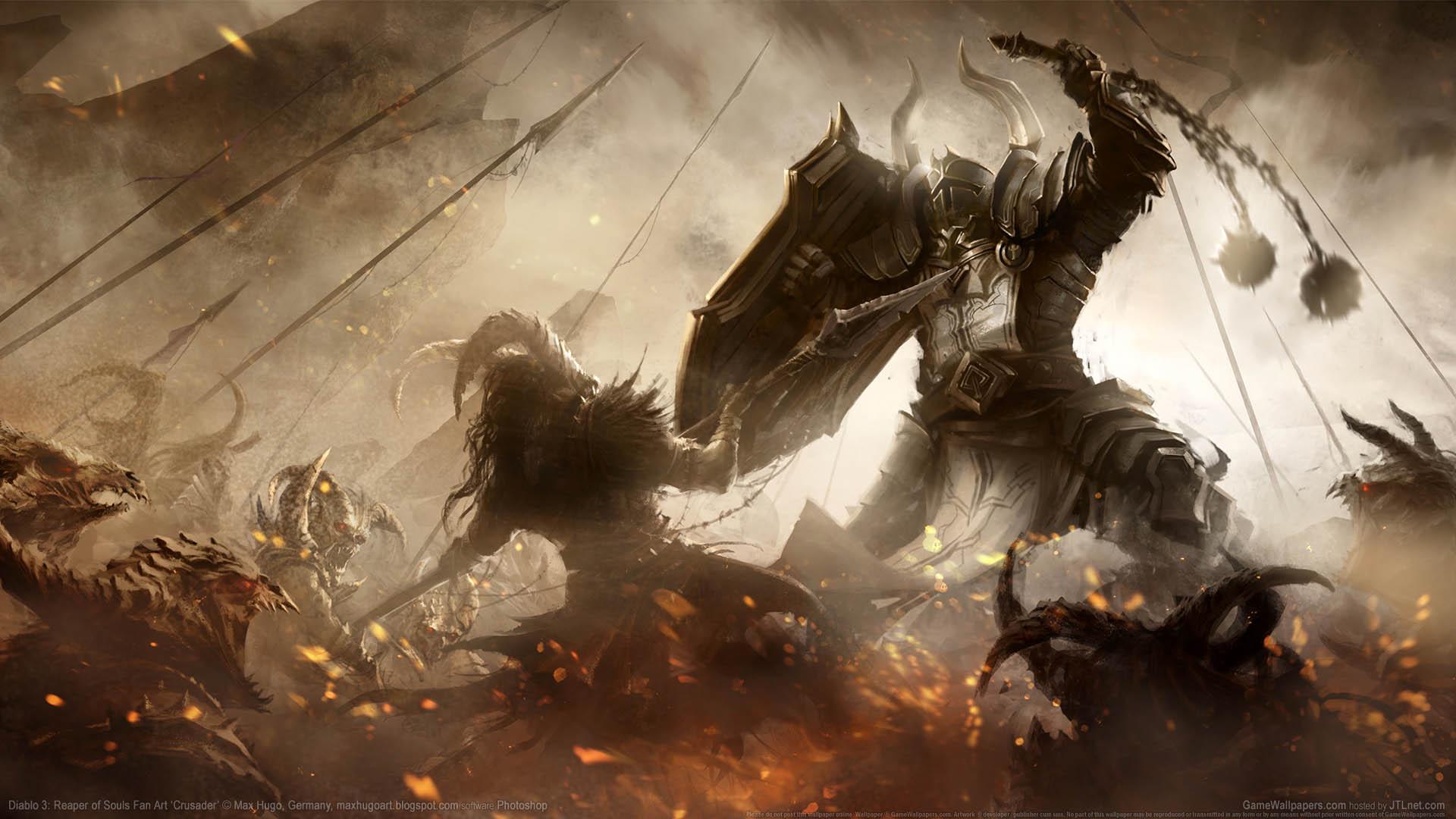Diablo 3 Reaper Of Souls Fan Art Wallpaper 10 1920x1080