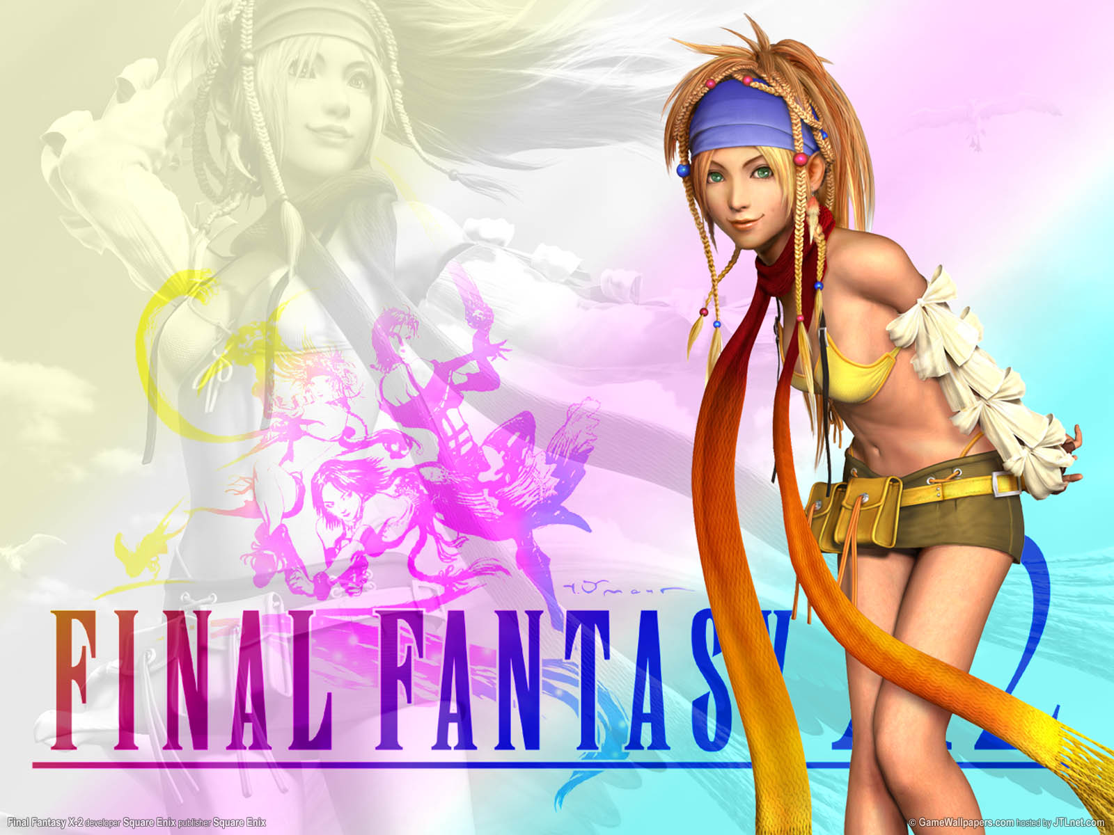 final fantasy x-2 wallpaper 01 1600x1200