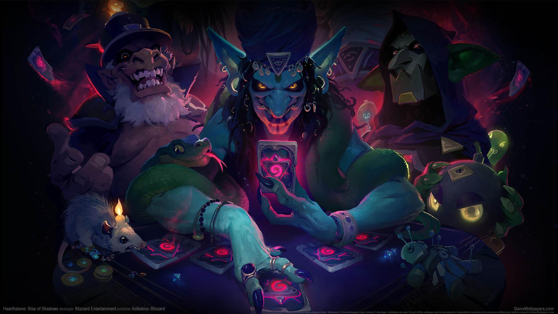 Hearthstone: Rise of Shadows wallpaper