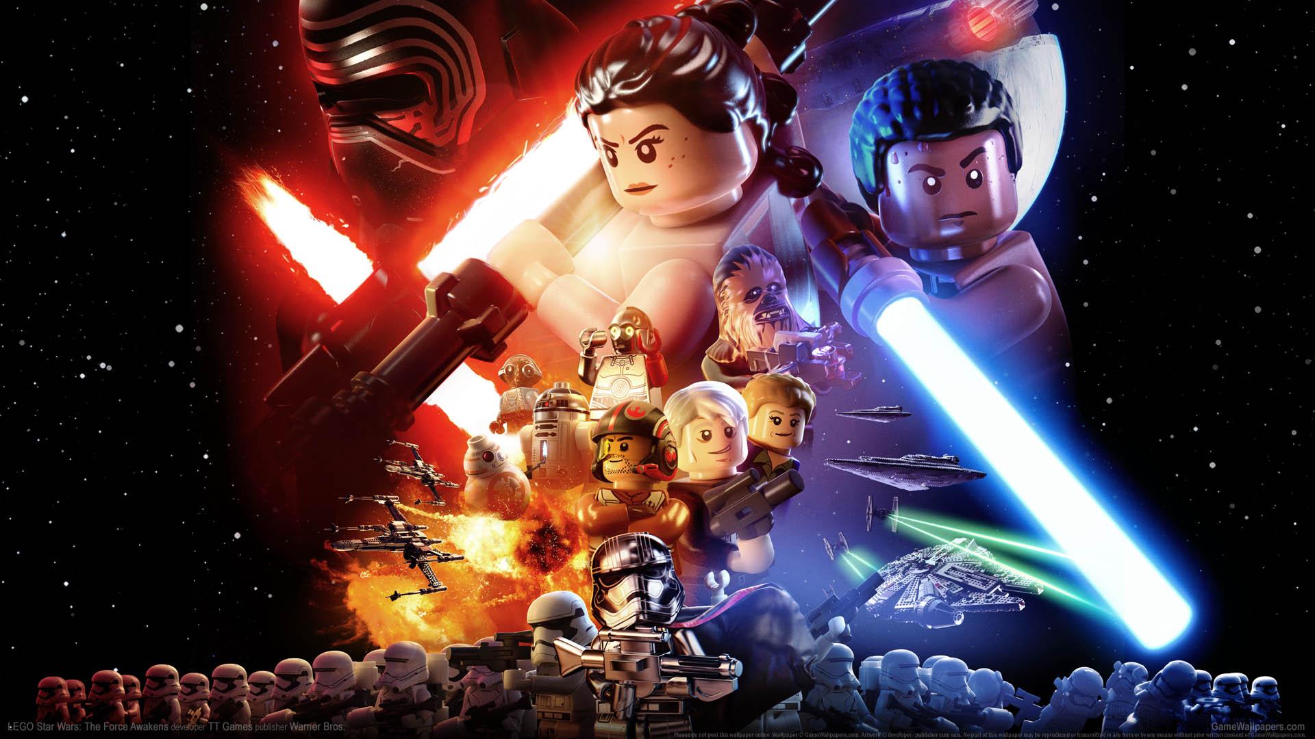 Lego Star Wars The Force Awakens Wallpaper 01 1920x1080