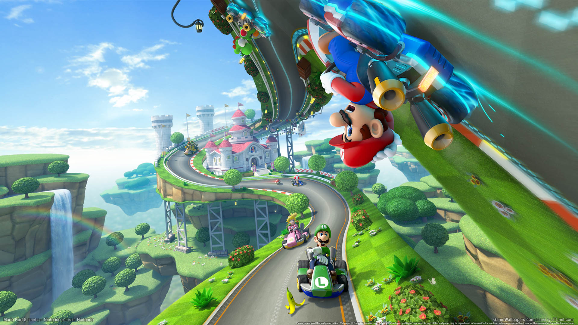Mario Kart 8 Wallpaper 01 1920x1080