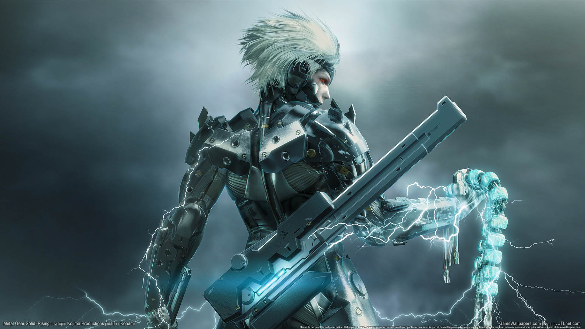 Metal Gear Rising: Revengeance Wallpaper 01 1920x1080