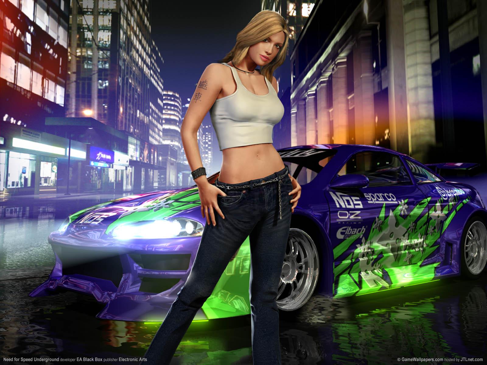 Need For Speed Underground Wallpaper 01 1600x1200