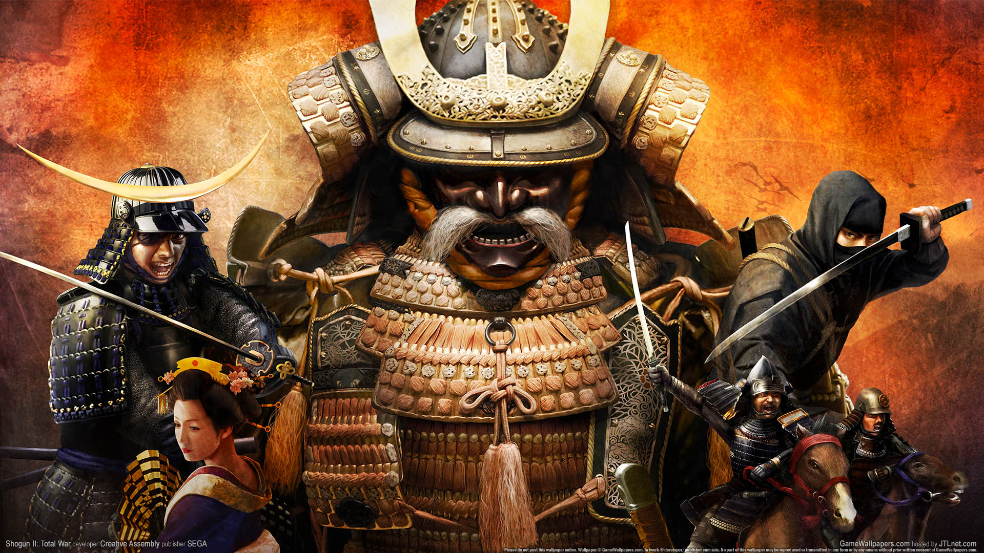 Shogun 2 Total War Wallpaper 01 1920x1080