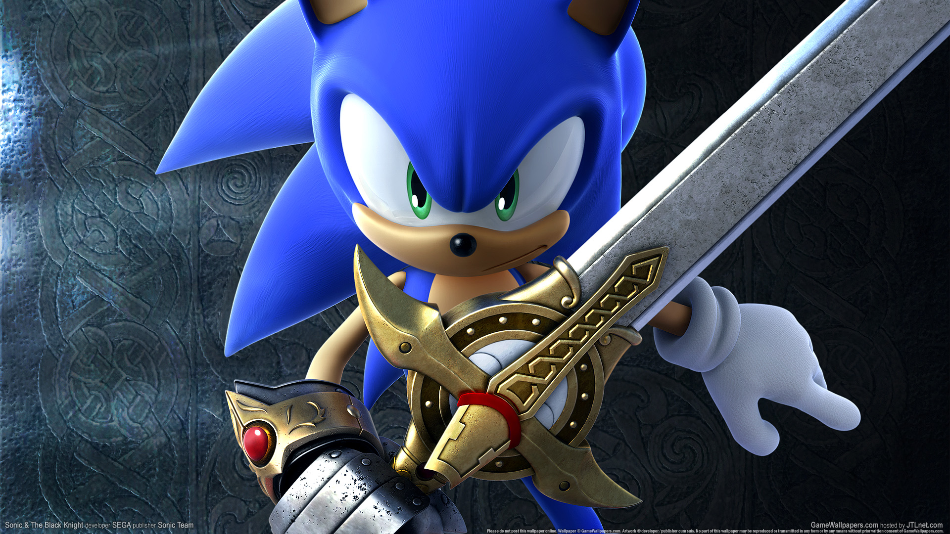 Sonic The Black Knight Wallpaper 01 1920x1080