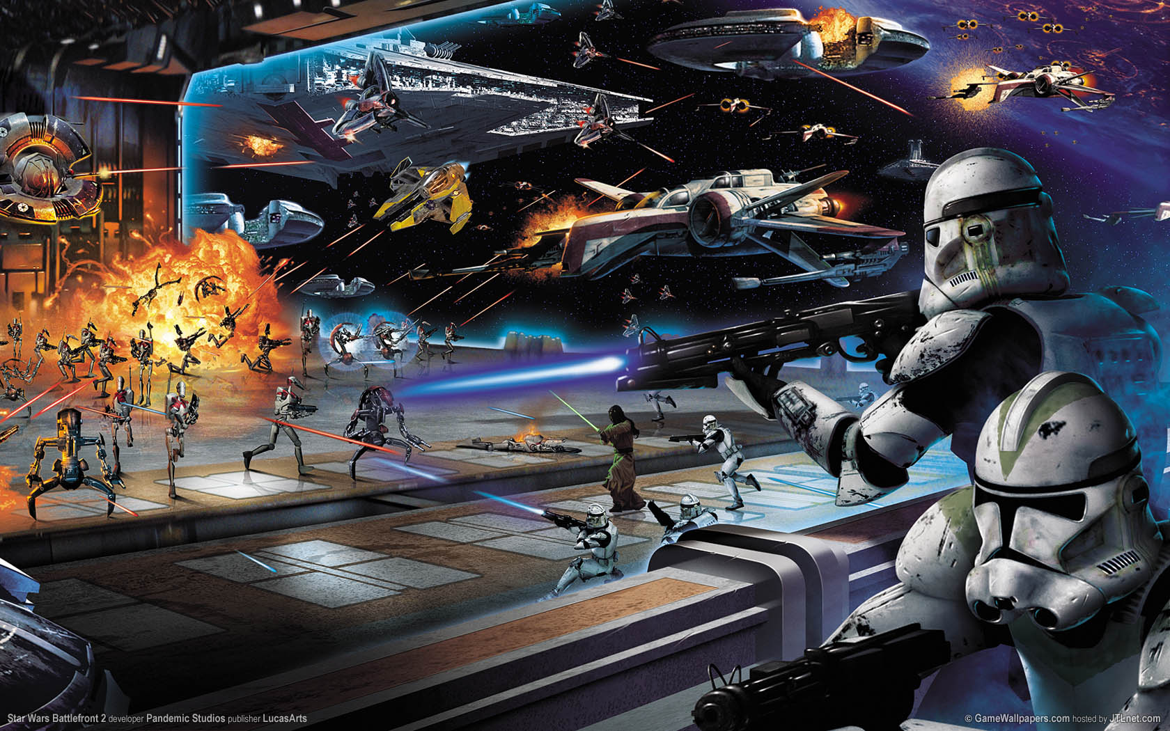 Star Wars Battlefront 2 Wallpaper 01 1680x1050