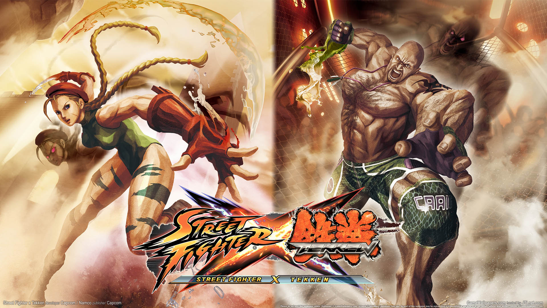 Street Fighter X Tekken Wallpaper 01 1920x1080