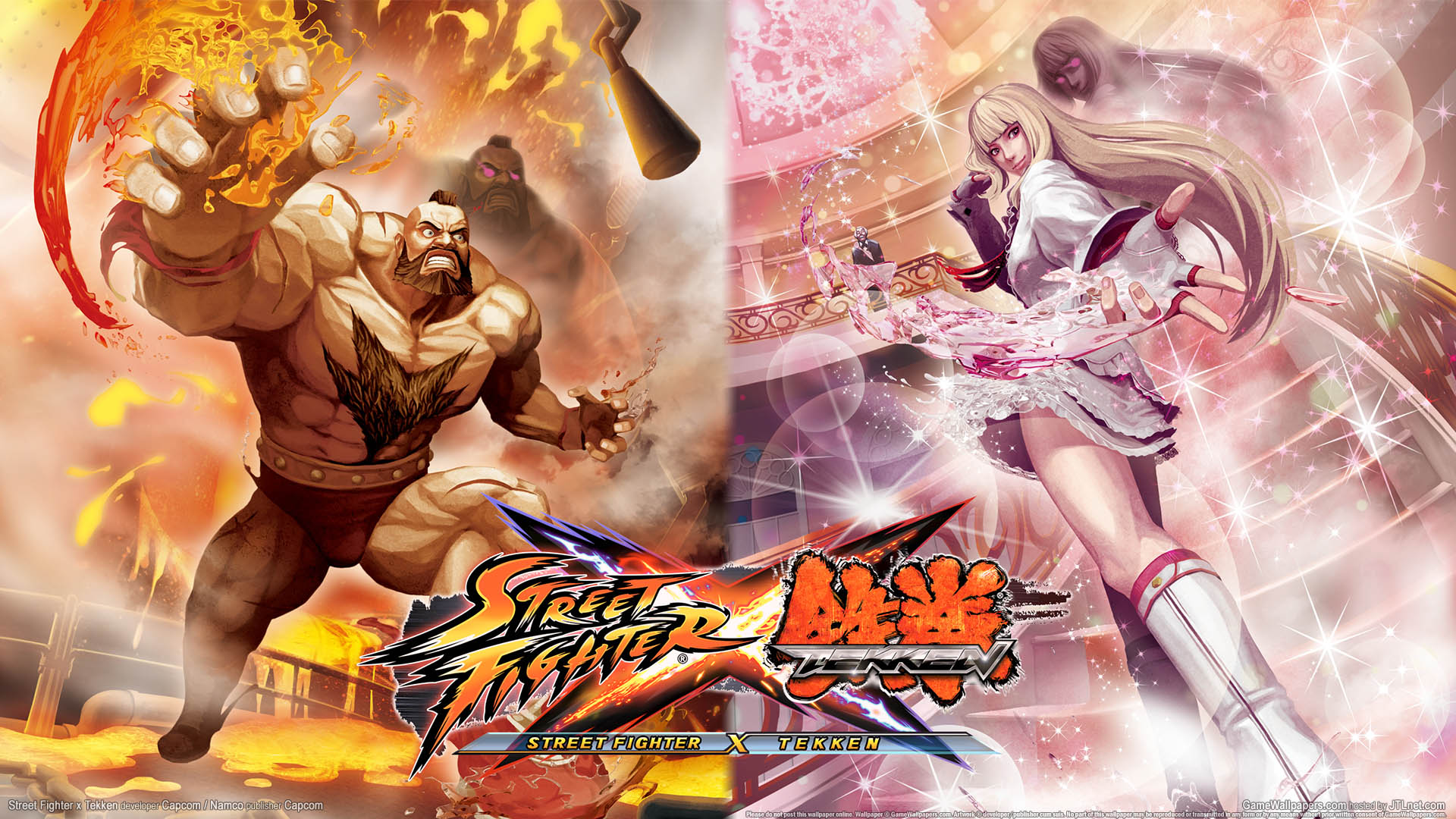 Street Fighter X Tekken Wallpaper 02 1920x1080
