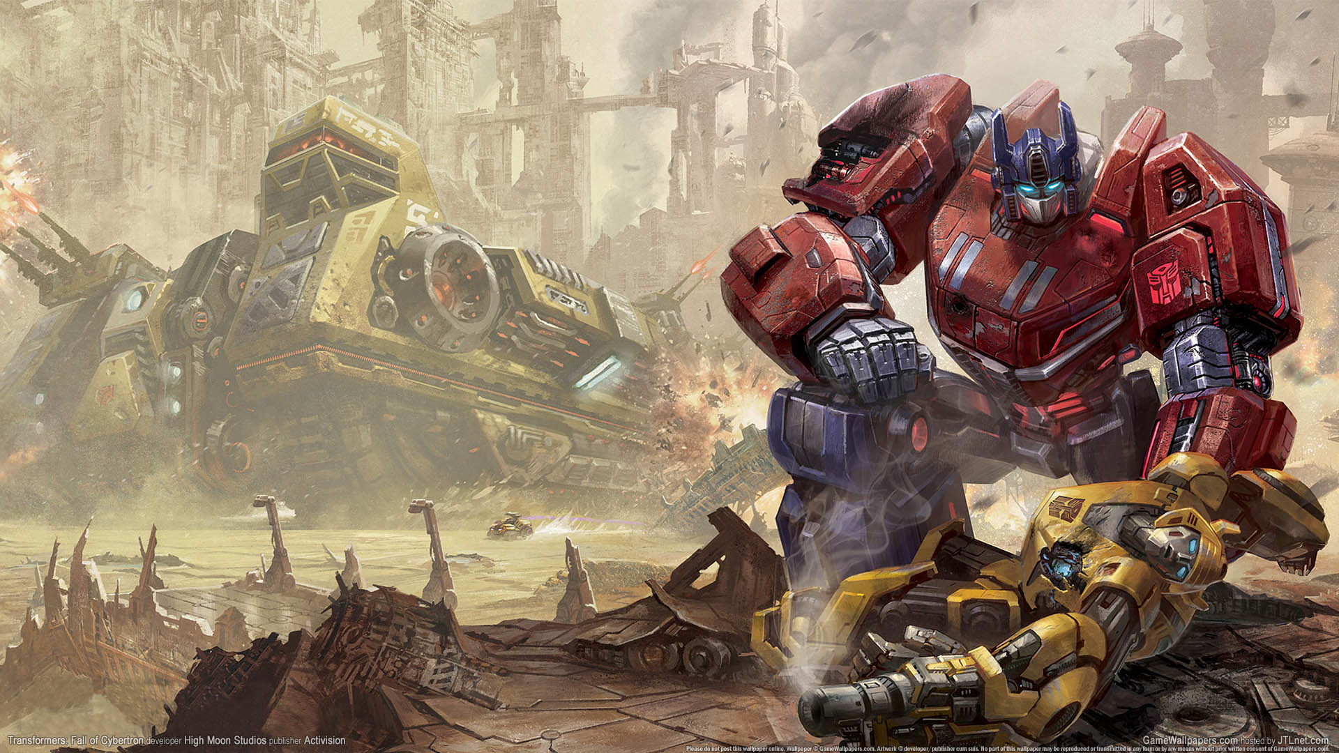 transformers: fall of cybertron wallpaper 01 1920x1080