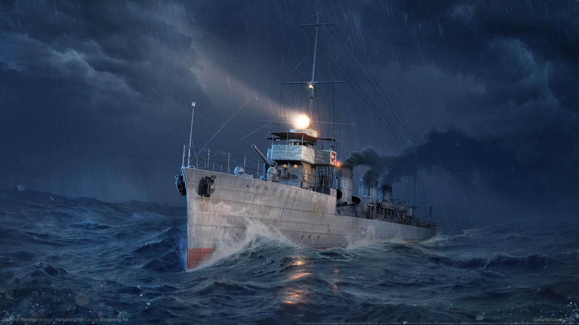 World Of Warships Wallpaper: World Of Warships Wallpaper 08 1920x1080