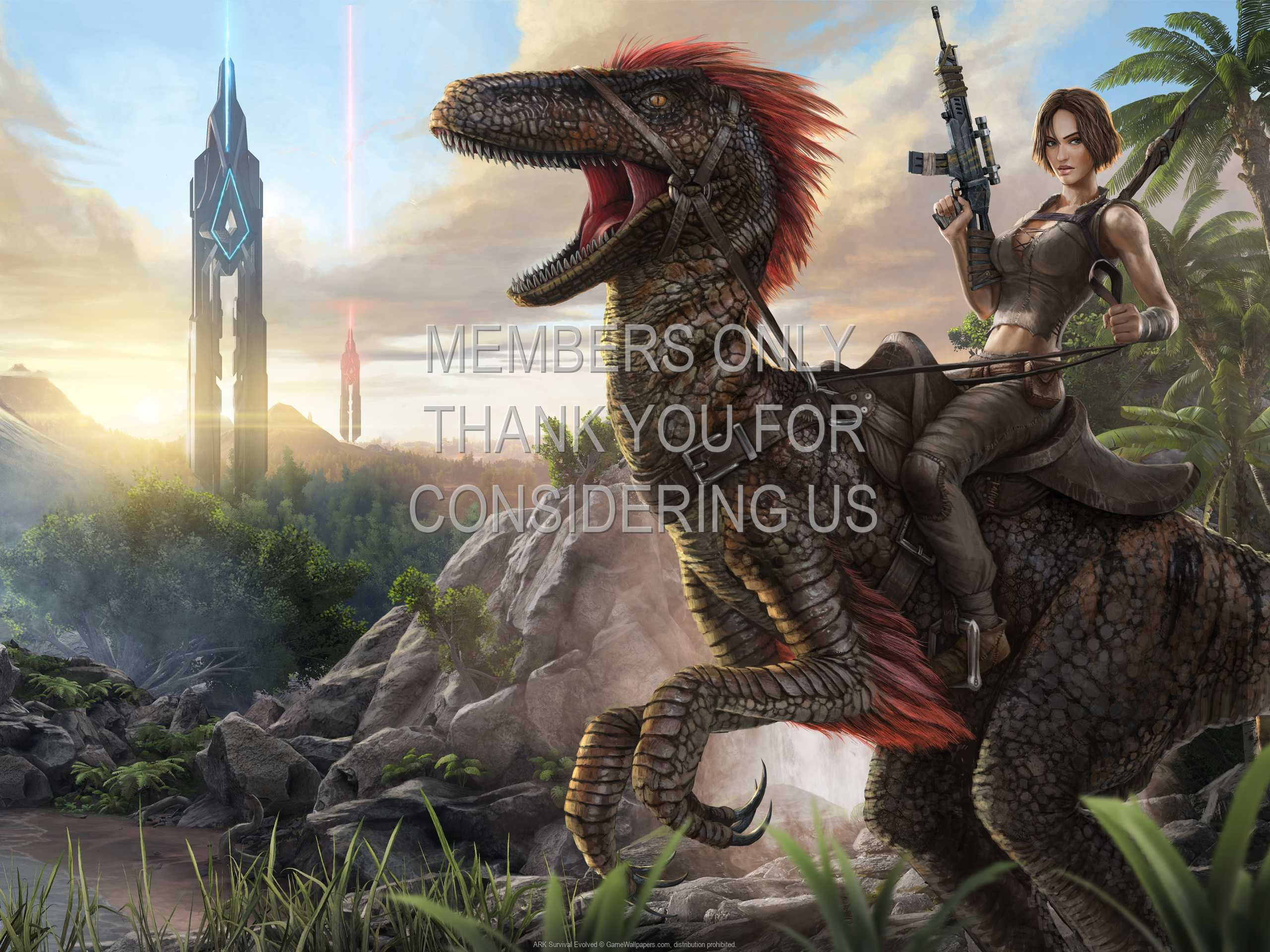 ARK: Survival Evolved 1080p Horizontal Mobile wallpaper or background 01
