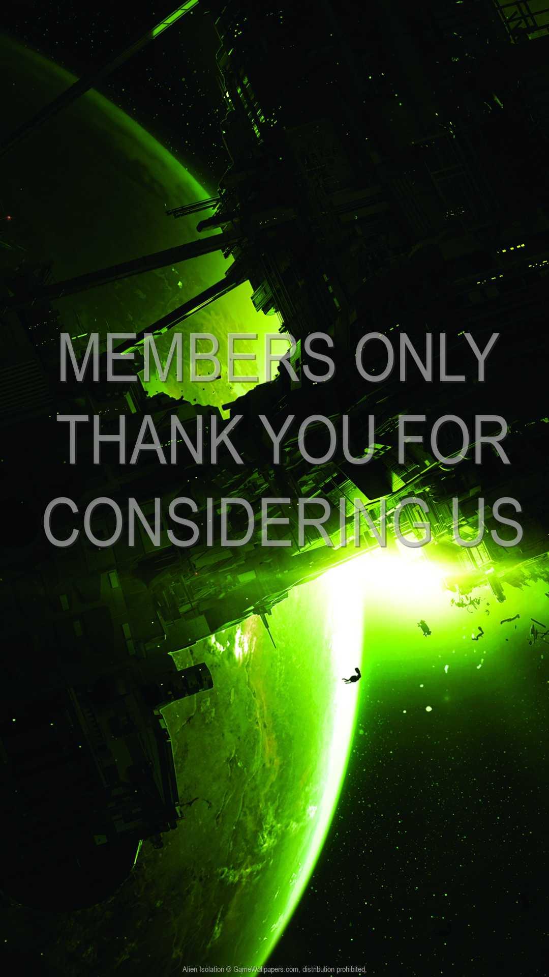 Alien: Isolation 1080p Vertical Mobiele achtergrond 01
