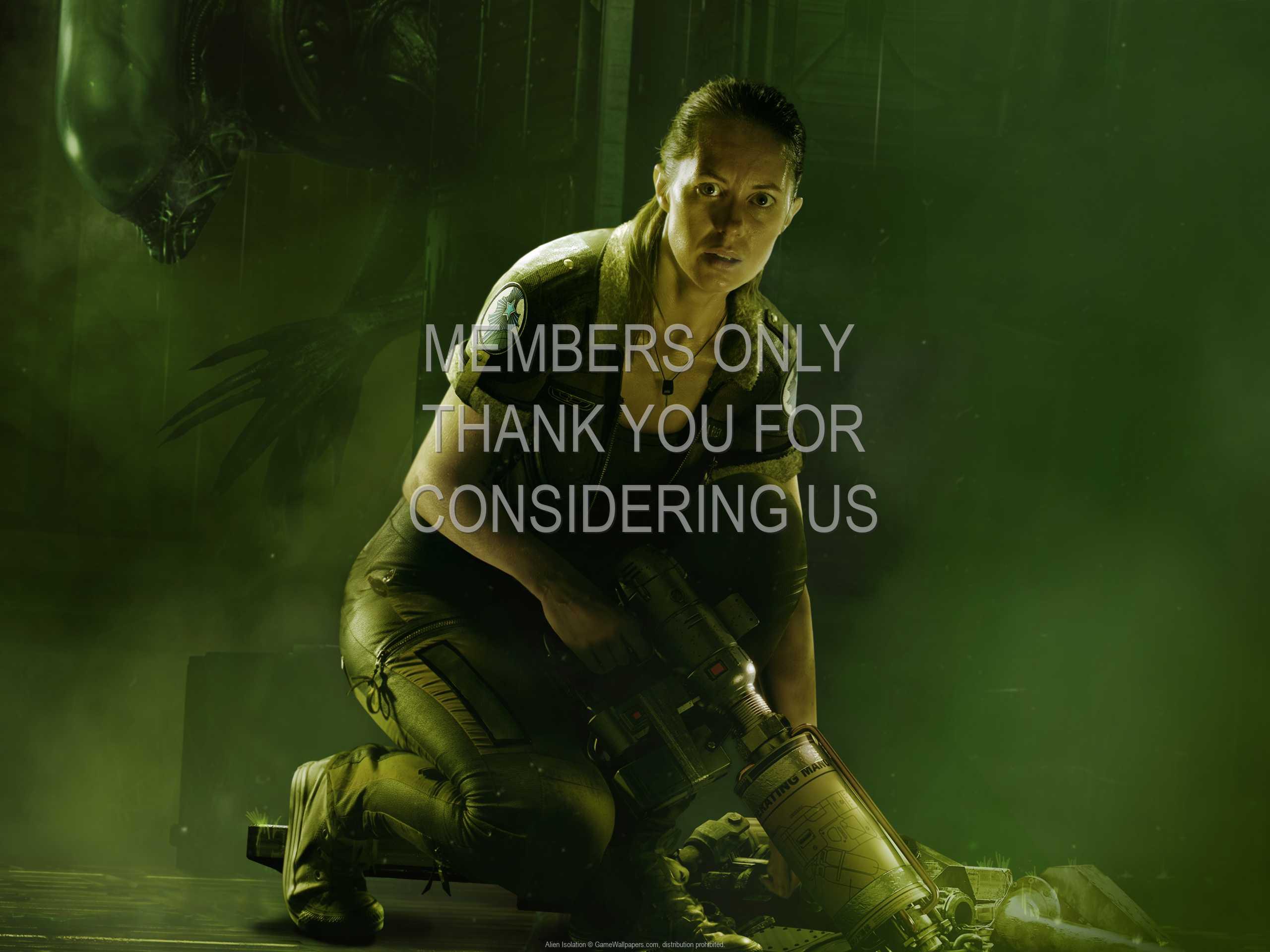 Alien: Isolation 1080p Horizontal Mobiele achtergrond 08