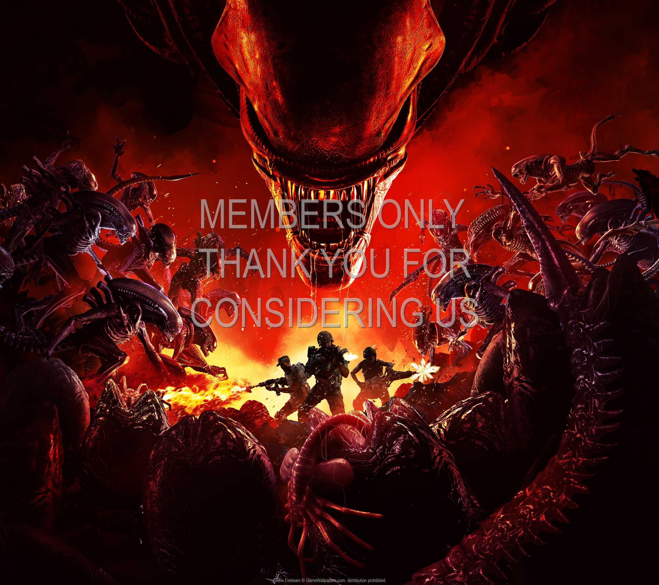 Aliens: Fireteam 1080p Horizontal Mobile fond d'écran 02