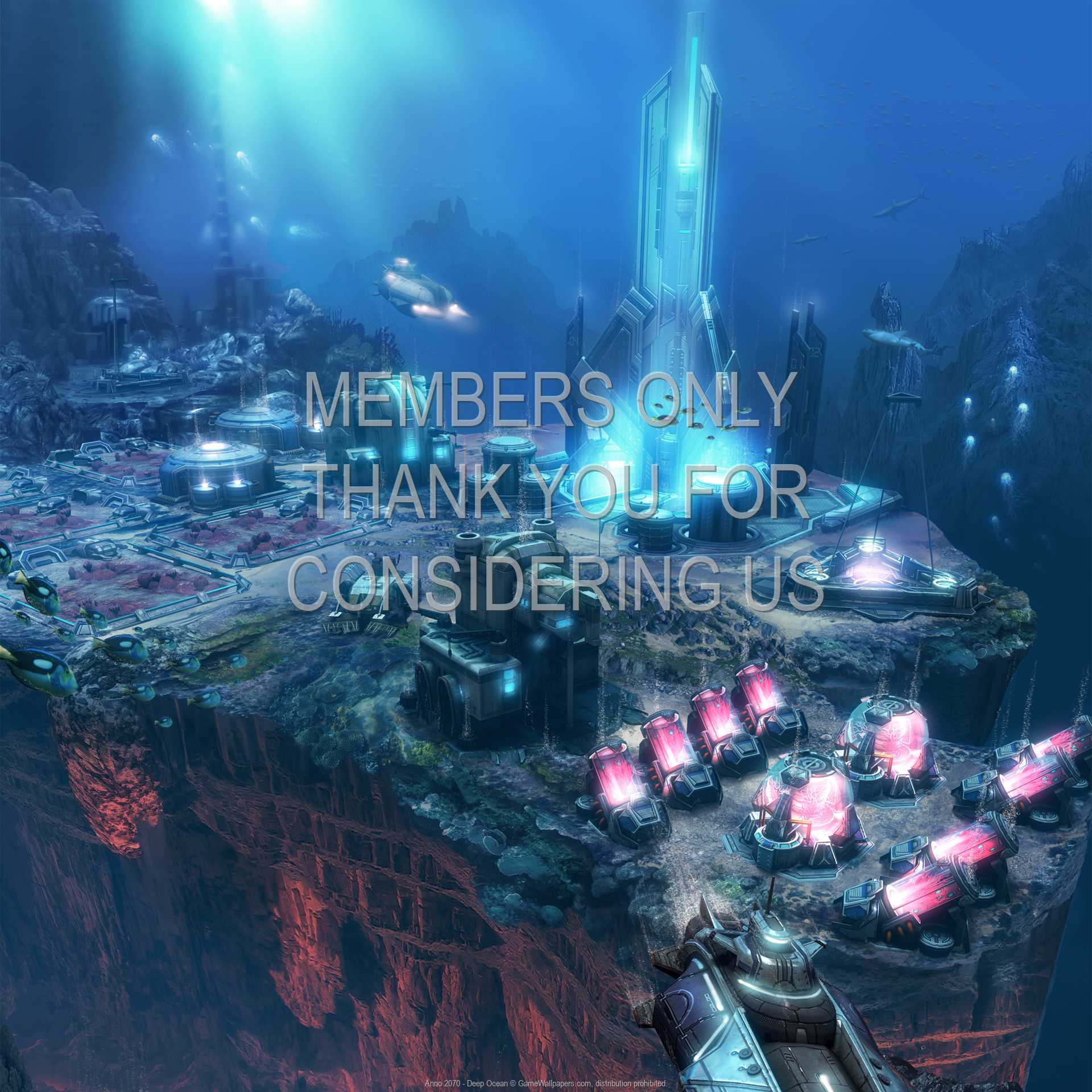 Anno 2070 - Deep Ocean 1080p Horizontal Handy Hintergrundbild 02