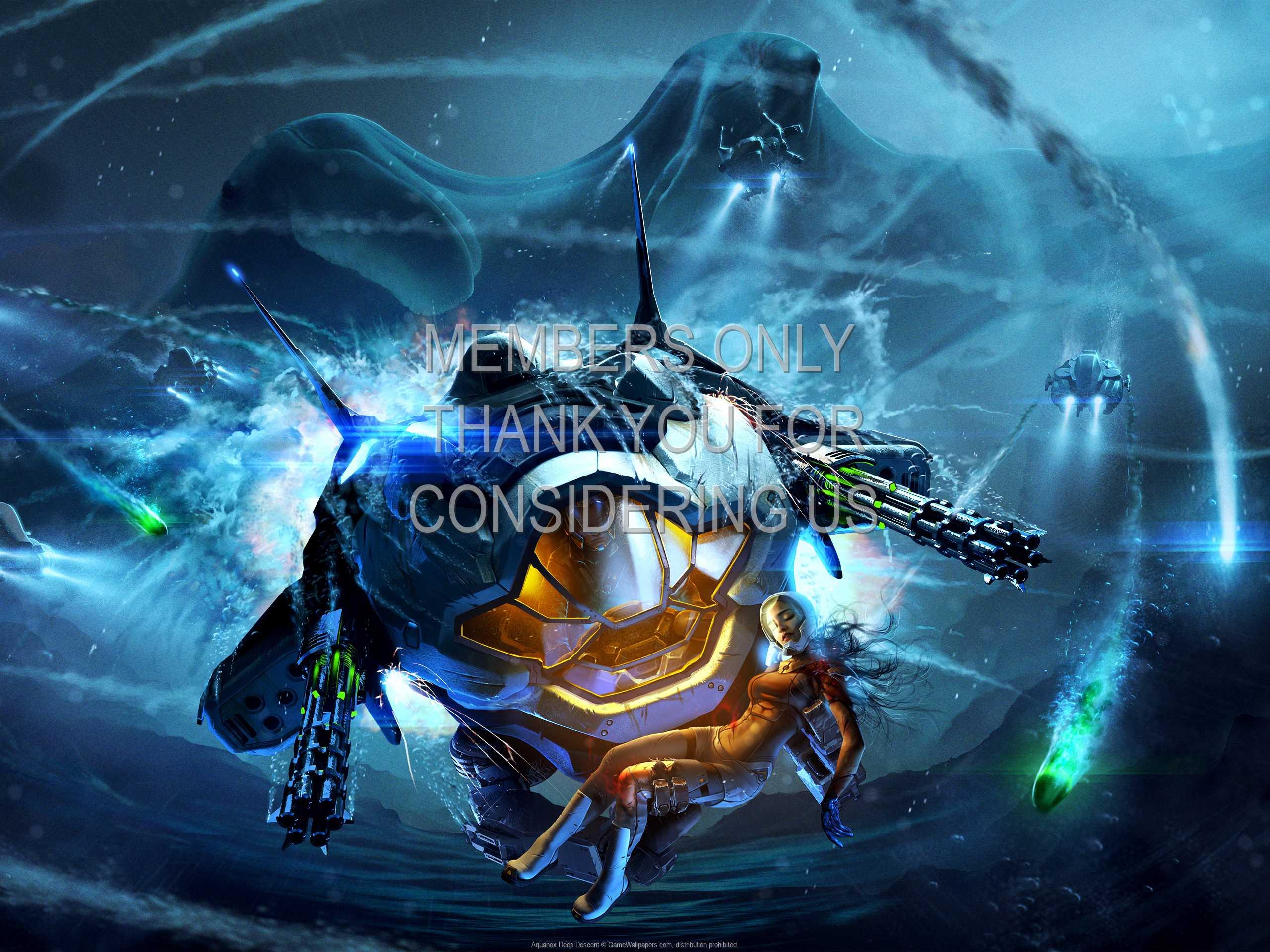 Aquanox: Deep Descent 1080p Horizontal Móvil fondo de escritorio 01