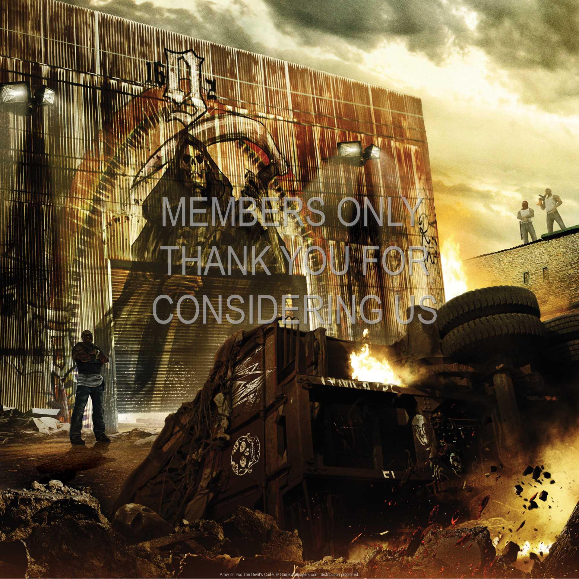 Army of Two: The Devil's Cartel 1080p Horizontal Handy Hintergrundbild 01