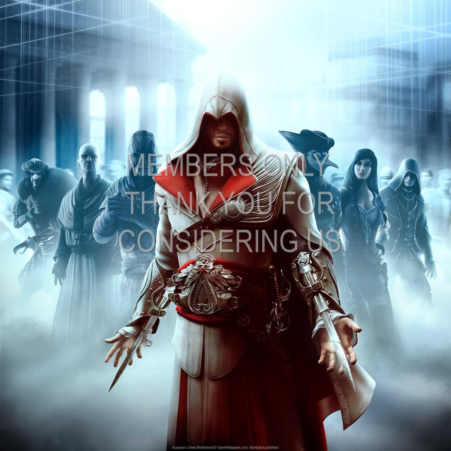 Assassin's Creed: Brotherhood 1080p Horizontal Mobiele achtergrond 01