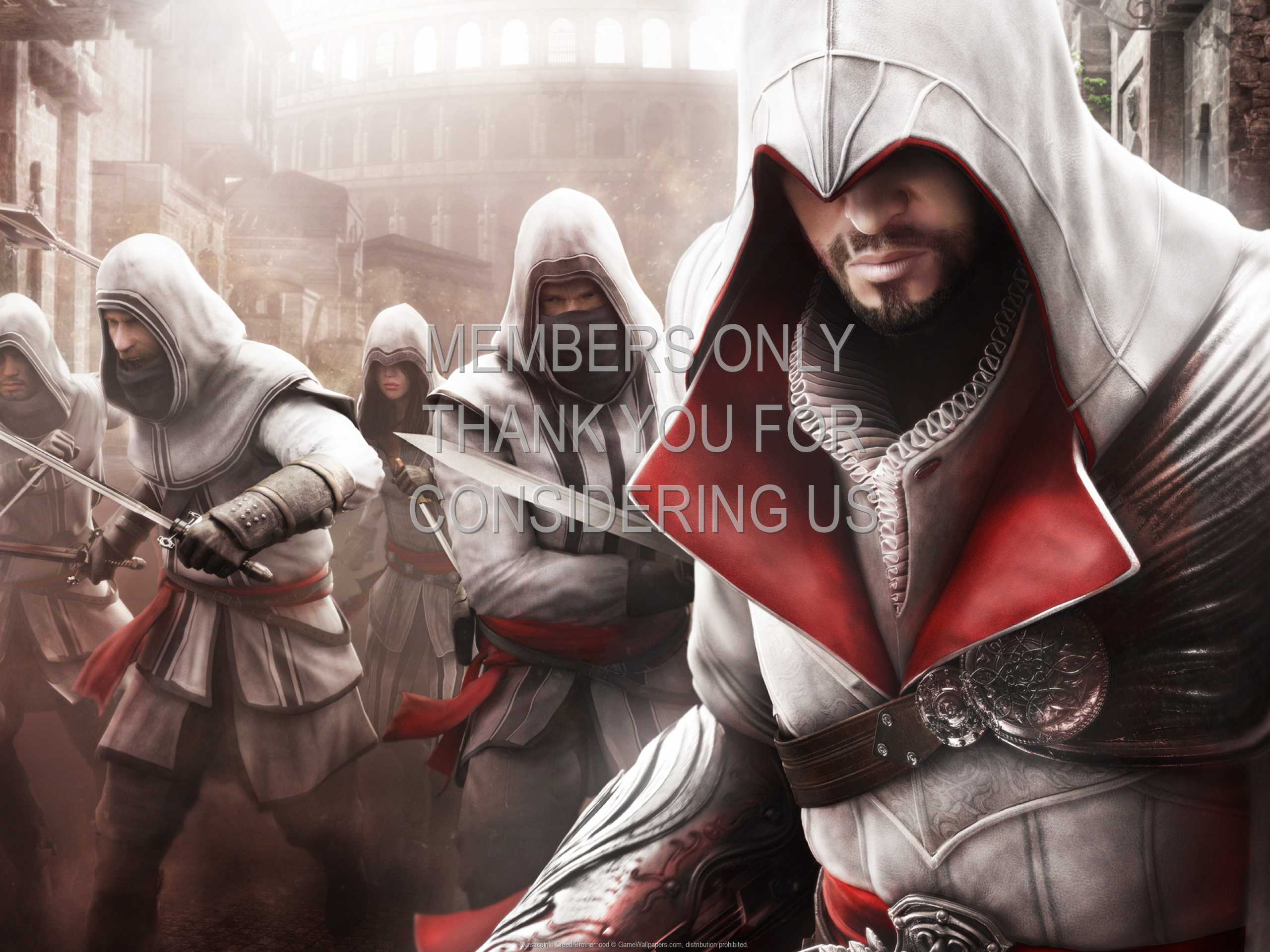 Assassin's Creed: Brotherhood 1080p Horizontal Mobile wallpaper or background 02