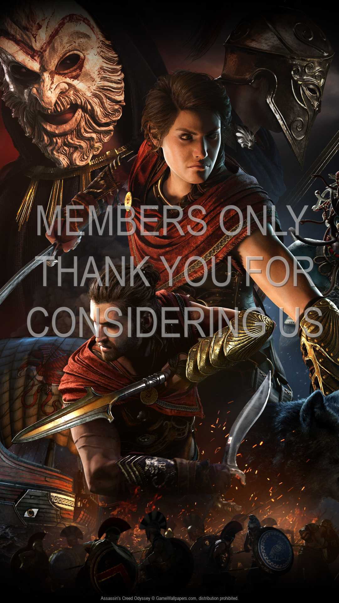 Assassin's Creed: Odyssey 1080p Vertical Mobile wallpaper or background 05