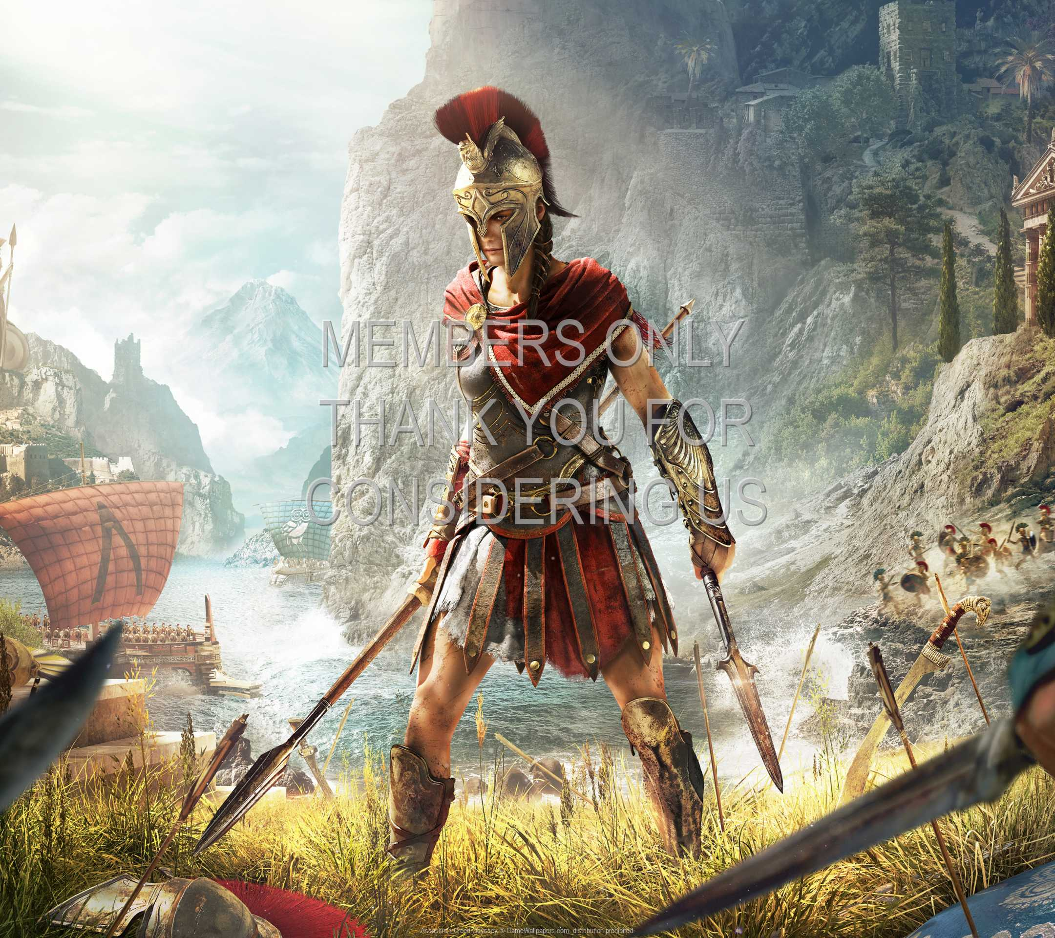 Assassin's Creed: Odyssey 1080p Horizontal Mobile wallpaper or background 08