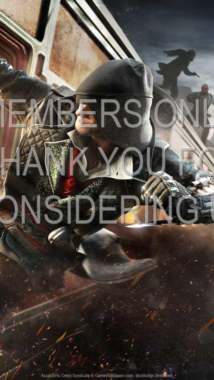 Assassin's Creed: Syndicate 720p Vertical Handy Hintergrundbild 04