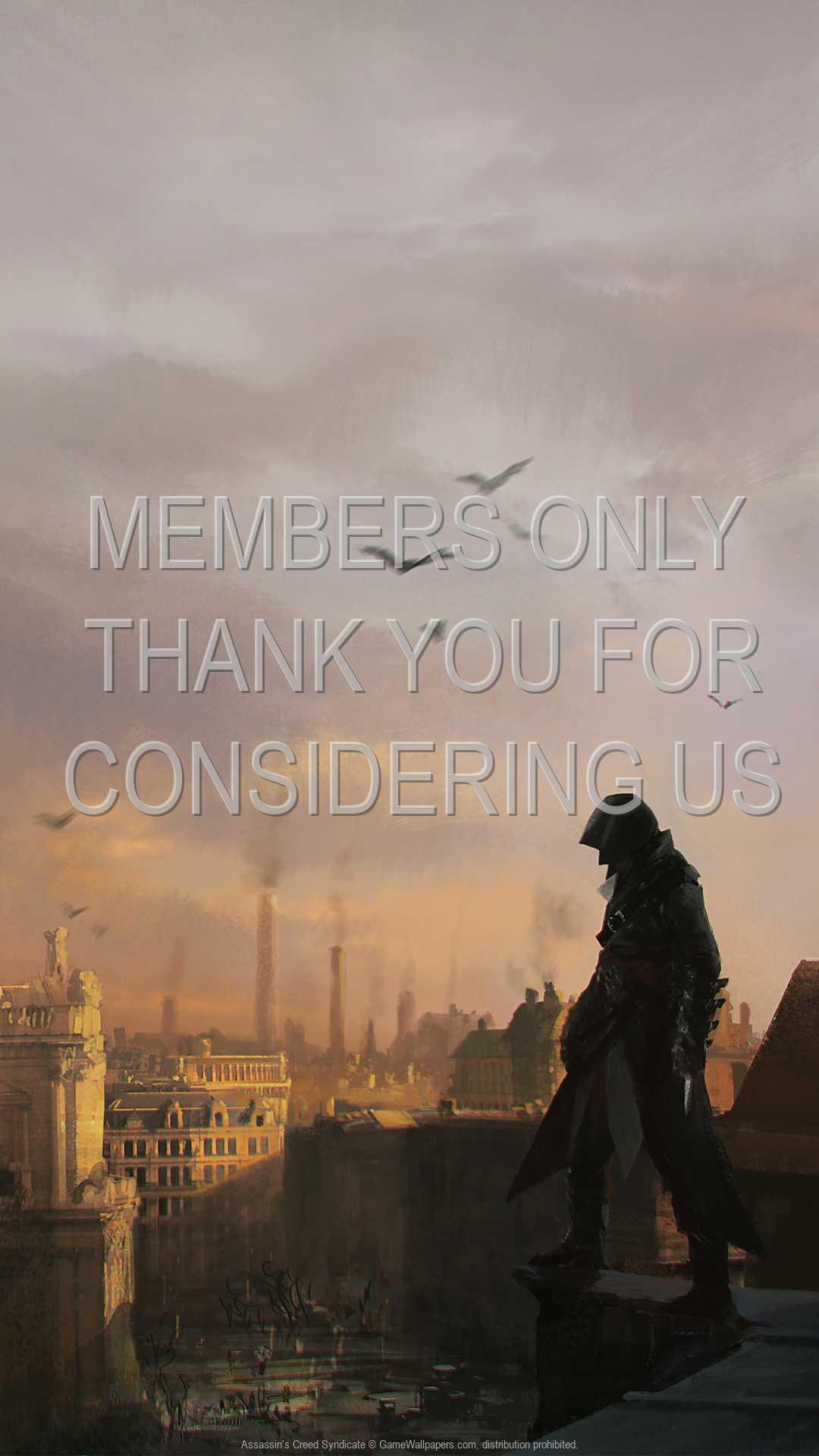 Assassin's Creed: Syndicate 1080p Vertical Handy Hintergrundbild 13